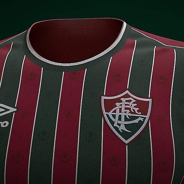 Novo Uniforme Fluminense 2021 Umbro