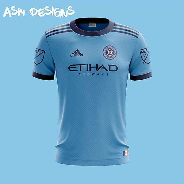 NYCFC Adidas 2018 Home kit
