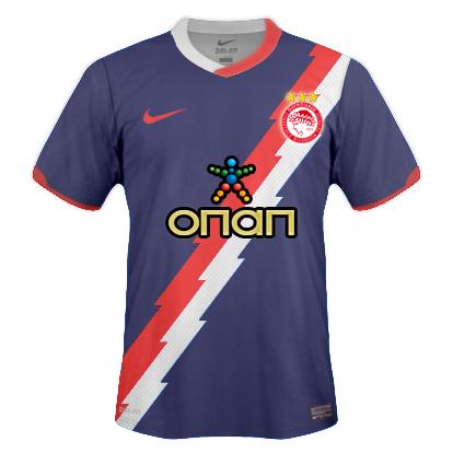 Olympiacos F.C away 2011