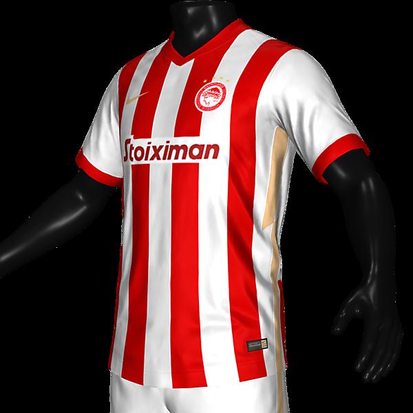 Olympiacos 21 home x Nike