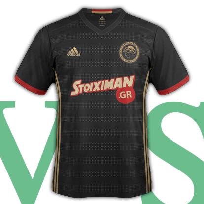 Olympiacos CFP Away Shirt 2016/17 with Adidas