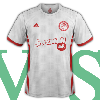 Olympiacos CFP Third Shirt 2016/17 with Adidas