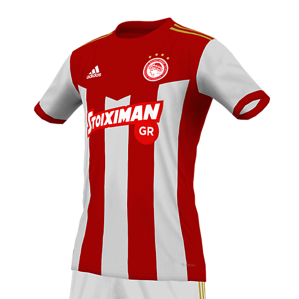 Olympiacos FC - Home kit