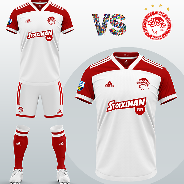 Olympiacos FC Third kit with Adidas (2020/21)