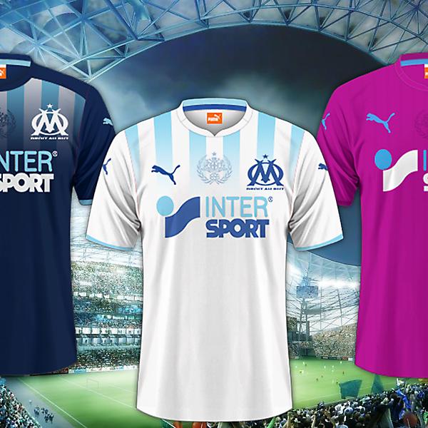 Olympique de Marseille - Puma Kits