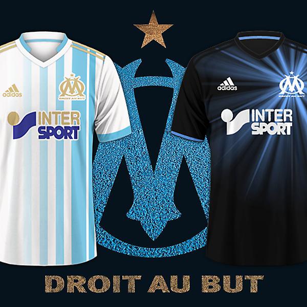 Olympique de Marseille / Adidas Football Kits 2017-2018 Preview