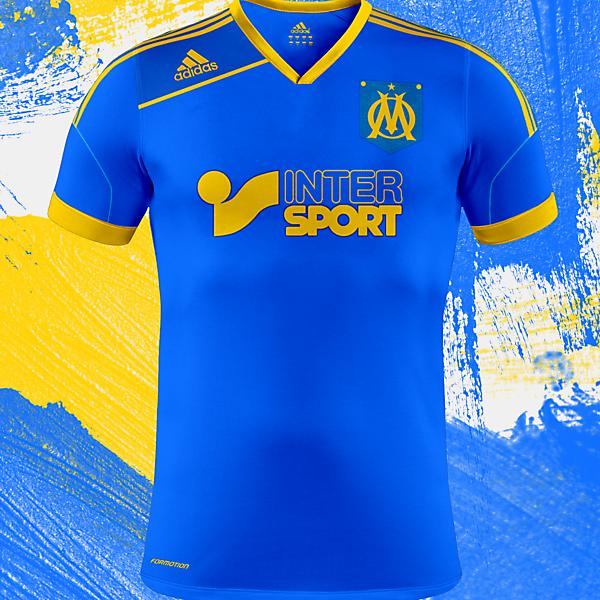 Olympique de Marseille Kit Design