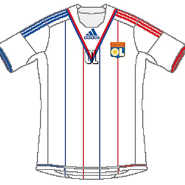 Olympique Lyon Adidas Home