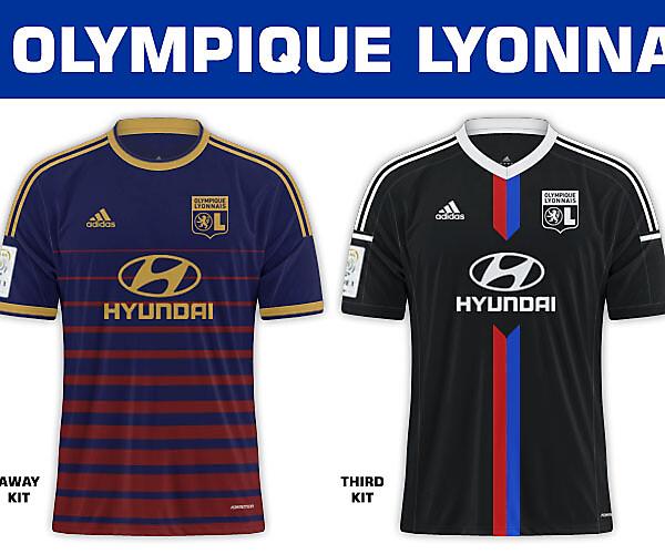 Olympique Lyon Fantasy Kits