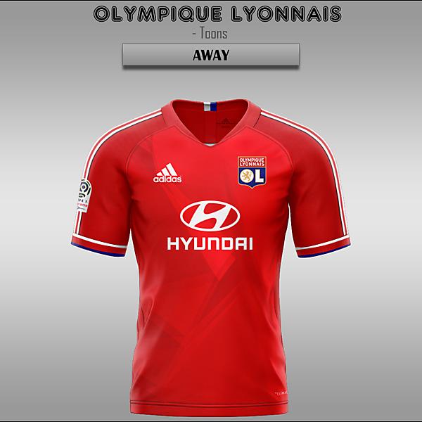 Olympique Lyonnais -- Home/Away/Third