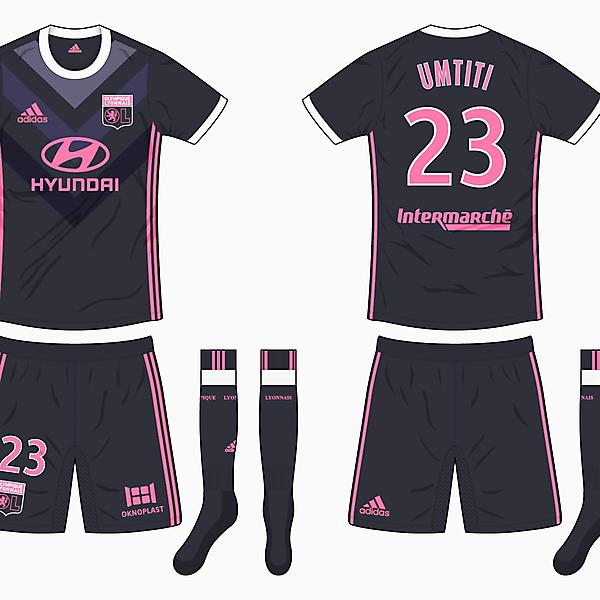 Olympique Lyonnais Away Kit