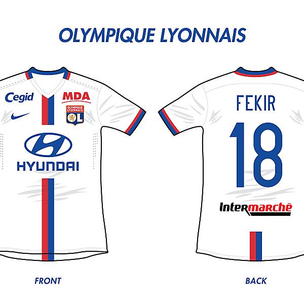 Olympique Lyonnais Home (Nike)