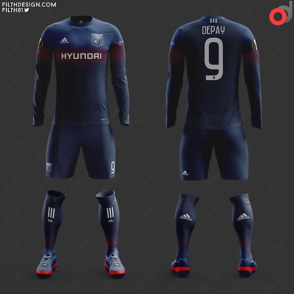 Olympique Lyonnais x adidas | Away Kit