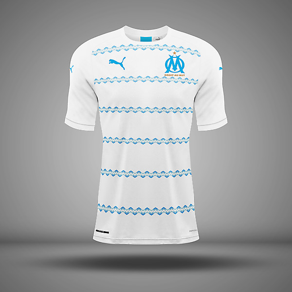 Olympique Marseille - Home kit