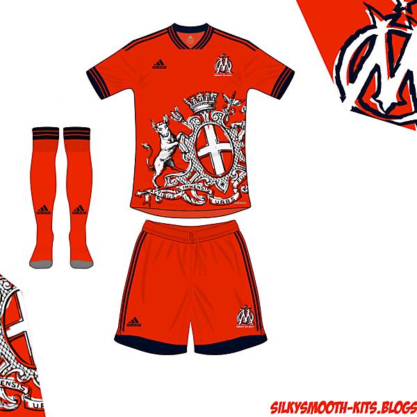 Olympique Marseille Away Adidas