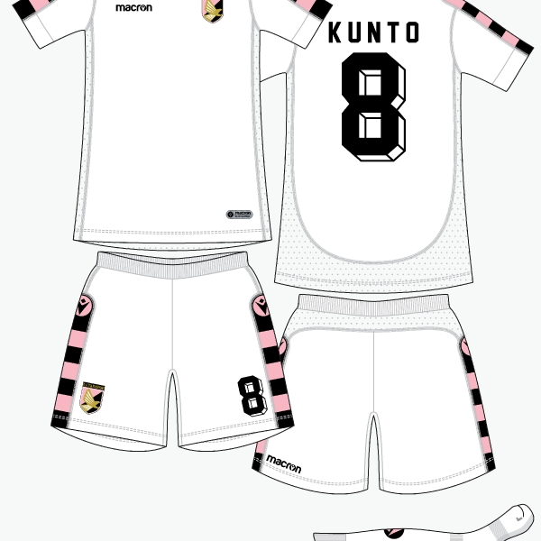 Palermo away kit by @kunkuntoto