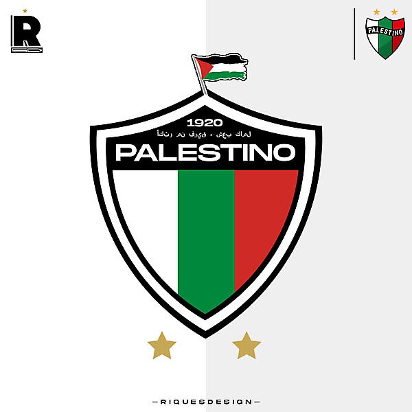Palestino (CHI) / Rediseño de Escudo