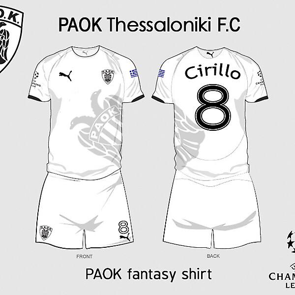 PAOK fantasy 2010/2011