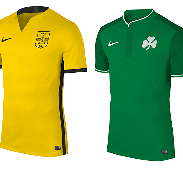 Paok,Aris,Panathinaikos,Olympiakos  / With Nike