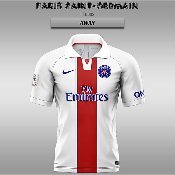 Paris Saint-Germain -- Home/Away/Third