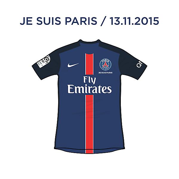 Paris Saint-Germain / Je Suis Paris (13.11.2015)