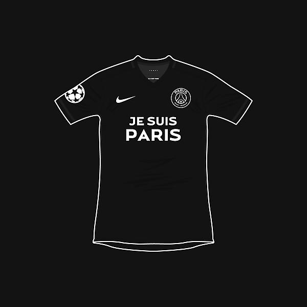 Paris Saint-Germain x Je Suis Paris