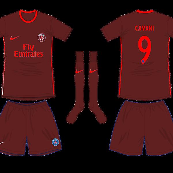 Paris Saint Germain Third Kit
