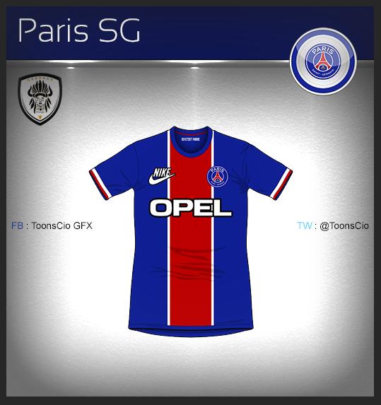 Paris SG Vintage