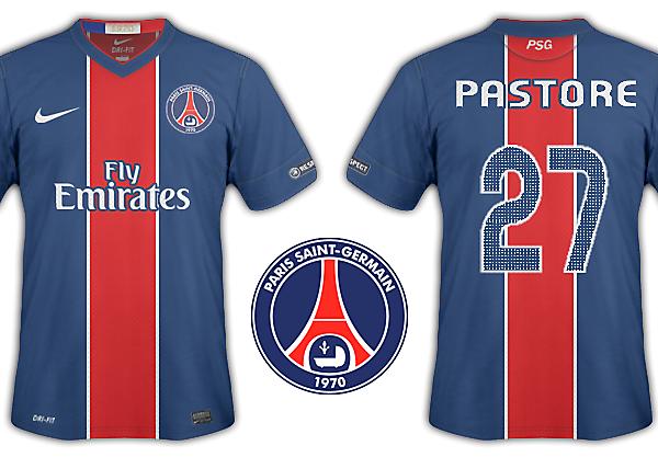 Paris St Germain kits 2012-13