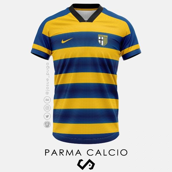 Parma Calcio Home Kit