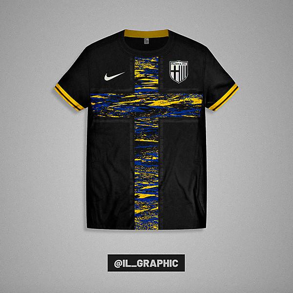 Parma Third Kit x Nike  - Paint Concept