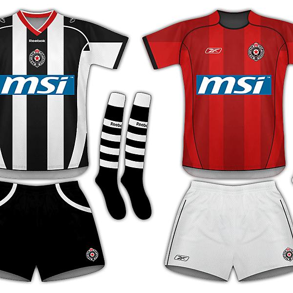FK Partizan - Reebook