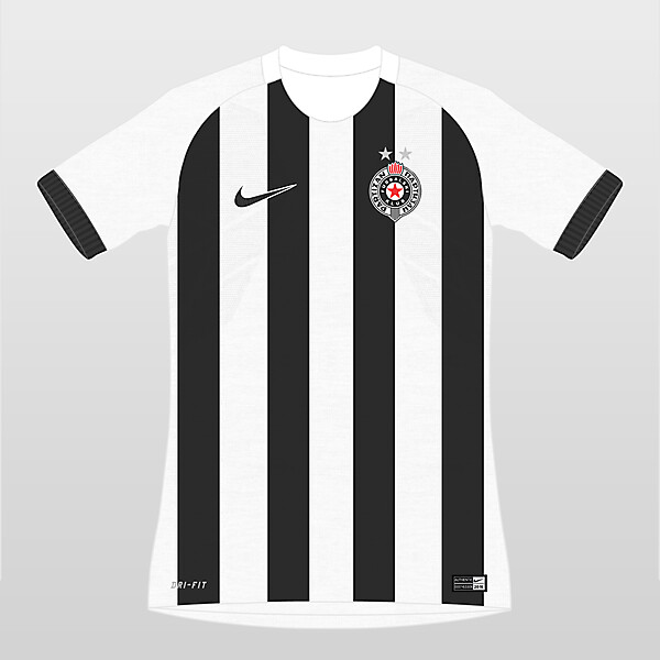 Partizan Home x Nike
