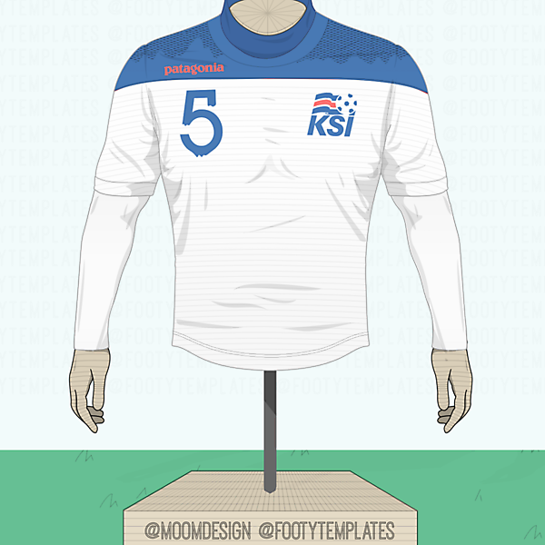 Patagonia® Football Concept ( Iceland Away Kit )