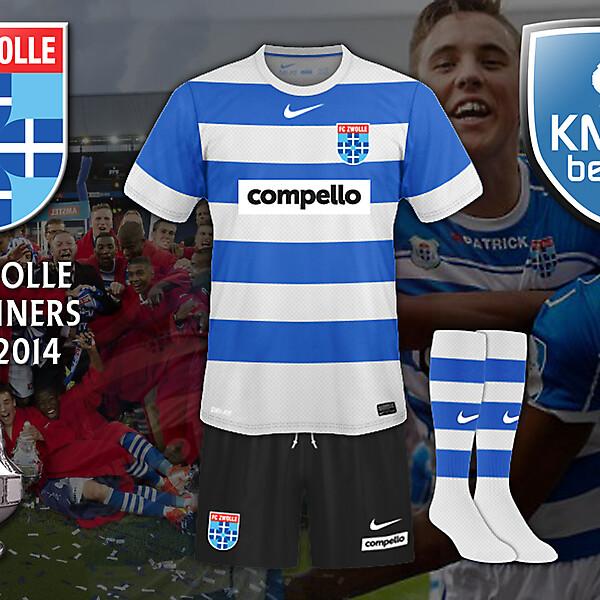 PEC Zwolle Cupwinnners 2013-2014