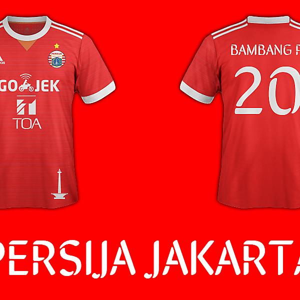 Persija Jakarta Home Kit