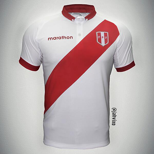 Perú - Marathon home jersey