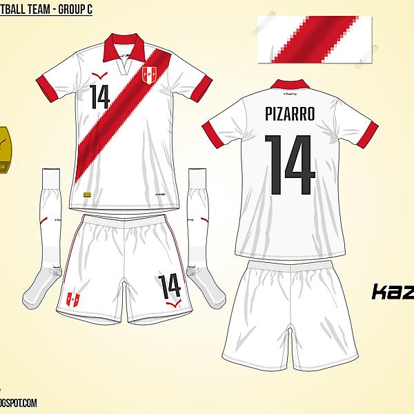 Peru Home - Group C, 2015 Copa América