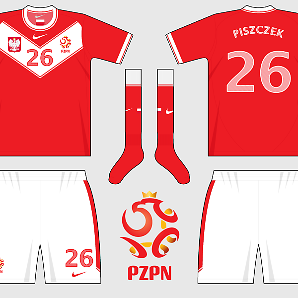 Poland Home and Away Kits