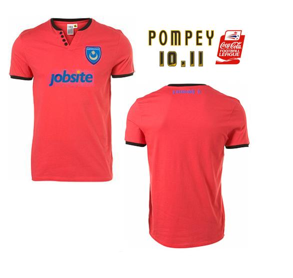 pompey championship shirt 10/11 (fantasy design)