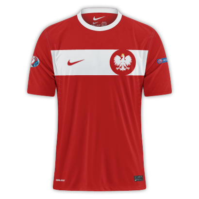 Poland - Euro 2016 Fantasy Away Shirt