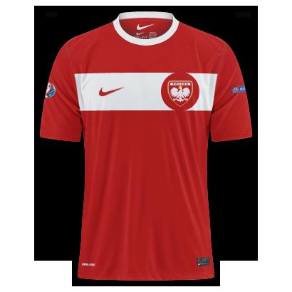 Poland - Euro 2016 Fantasy Away Shirt(with my crest)