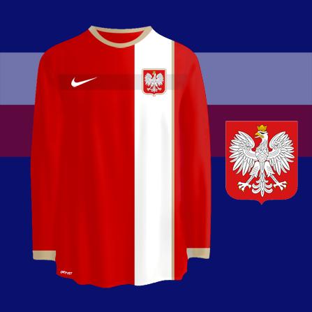 Poland away kit