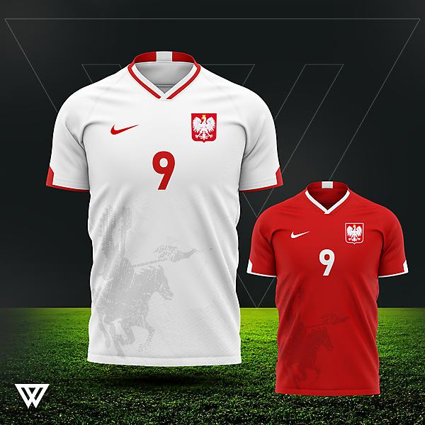 Poland Euro 2021 kit concept