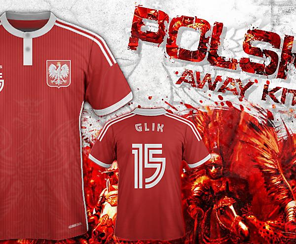 Poland Fantasy Away Kit Concept