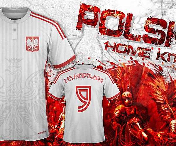 Poland Fantasy Home Kit Concept