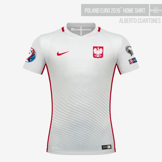 Poland UEFA EURO 2016™ Home Shirt