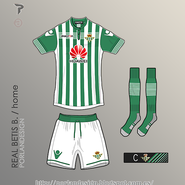 PORLANDESIGN / Real Betis home