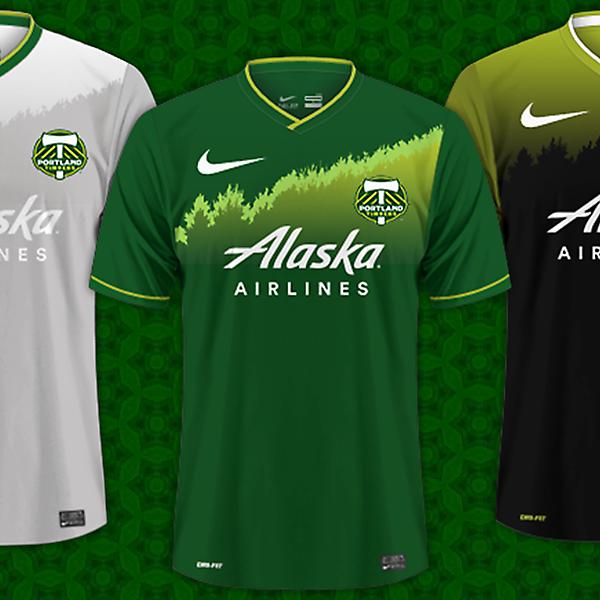 Portland Timbers / Nike Kits
