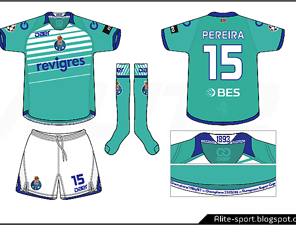 Porto Daer European Away Kit